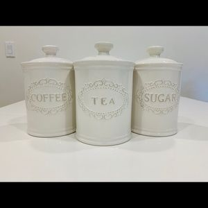 Canisters Sets for the Kitchen Airtight, set of 3